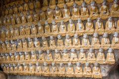 案件龙兴寺(寺庙朱绵羊) Qianfoyan 图库摄影