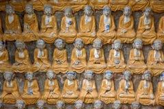案件龙兴寺(寺庙朱绵羊) Qianfoyan 库存照片