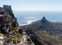 桌山开普敦南非 图库摄影