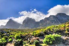 桌山-开普敦,南非海岸 库存图片