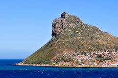 桌山-开普敦,南非海岸 库存照片