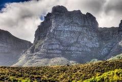 桌山-开普敦,南非海岸 免版税库存照片