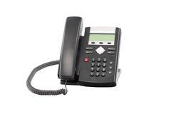 桌面电话 免版税库存图片