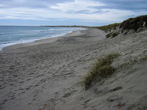 桑内斯海滩,挪威 库存图片