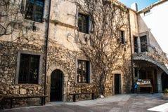 桑卢里城堡 库存图片