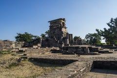 桑吉寺庙站点印度 免版税库存照片
