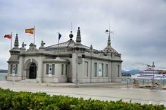 桑坦德,坎塔布里亚西班牙都市风景  免版税库存图片