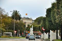 桑坦德,坎塔布里亚西班牙都市风景  图库摄影