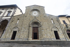 桑塞波尔克罗(托斯卡纳,意大利) 免版税图库摄影