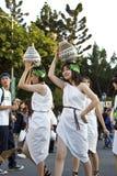 桑巴狂欢节舞蹈演员 库存照片