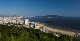桑托斯,巴西 免版税库存图片
