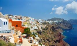 桑托林岛,希腊 免版税库存图片