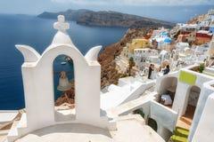桑托林岛,希腊 图库摄影