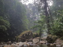 桑托罗河 免版税库存照片