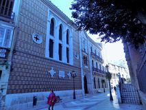 桑托Tomaas老医院  库存图片