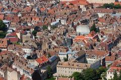 贝桑松在Franche-Comté,法国 免版税库存照片