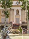 桑特费柳德略夫雷加特,卡塔龙尼亚,西班牙 免版税图库摄影