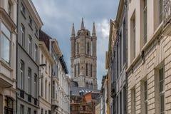 桑特Baafs大教堂,或者荷兰Sint的Baafskathedraal 免版税库存照片