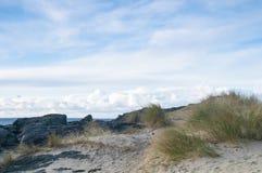 桑纳布海湾沙丘 库存照片