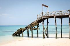 桑给巴尔暑假在海岛上的一个假日生动描述启发 免版税图库摄影