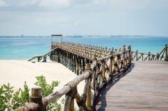 桑给巴尔暑假在海岛上的一个假日生动描述启发 库存照片