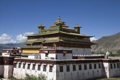桑耶寺修道院 免版税库存图片