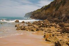 桑迪海洋海滩 库存图片