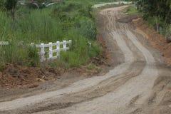 桑迪运输路线 免版税库存图片