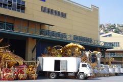 桑巴城市在里约热内卢 图库摄影