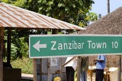 桑给巴尔标志-桑给巴尔-坦桑尼亚 库存图片