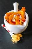 桔子和柠檬味 库存图片