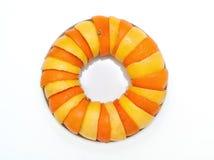 桔子和柠檬果子 免版税库存图片