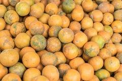 桔子在泰国 免版税库存照片