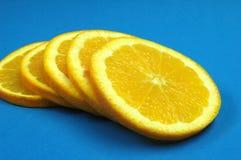 桔子片式 库存图片