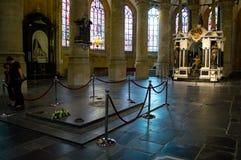 桔子的威廉一世王子坟墓  库存照片