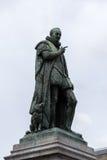 桔子的威廉雕象在海牙 免版税库存图片