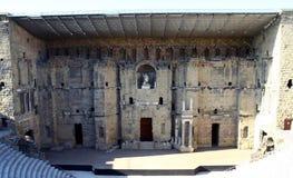 桔子的罗马剧院 图库摄影