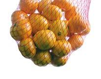 桔子袋子 免版税图库摄影