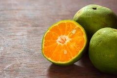 桔子,柑橘reticulata 免版税库存照片