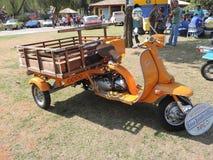 桔子175小型摩托车 库存照片