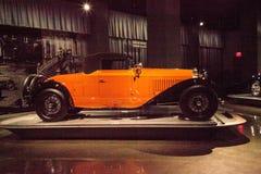 桔子1930年Bugatti类型46敞蓬车 库存照片