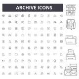 档案线象,标志,传染媒介集合,概述概念例证 皇族释放例证