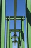 桥式起重机 免版税库存图片
