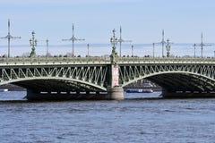 桥梁三位一体 免版税库存图片