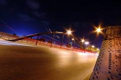 桥梁业务量 图库摄影