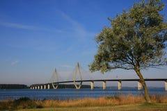 桥梁丹麦 免版税图库摄影