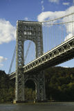 桥梁乔治・华盛顿 库存照片