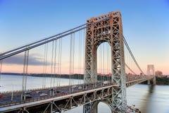 桥梁乔治・华盛顿 免版税库存照片