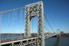 桥梁乔治・华盛顿 免版税库存图片