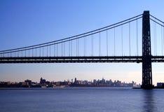 桥梁乔治・华盛顿 库存图片